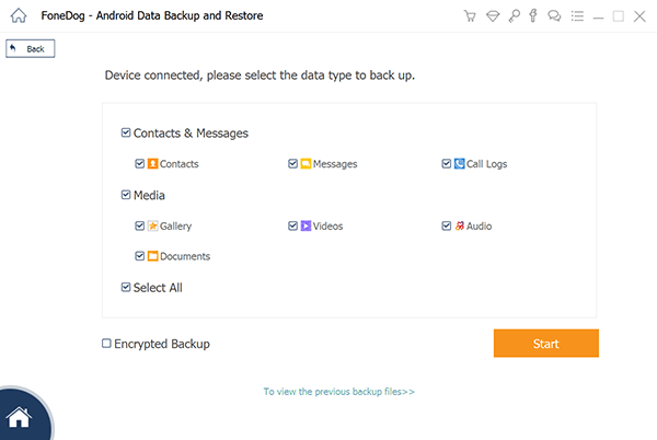 Select the Data Type