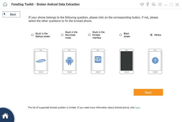 Detectar dispositivo Samsung