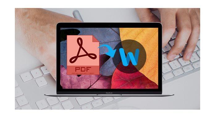 如何在Mac上將PDF轉換為Word