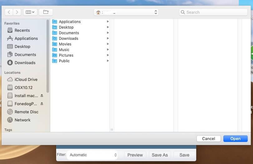 FoneDog PDF Compressor App Enregistrer sous