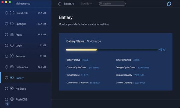 maintenance battery
