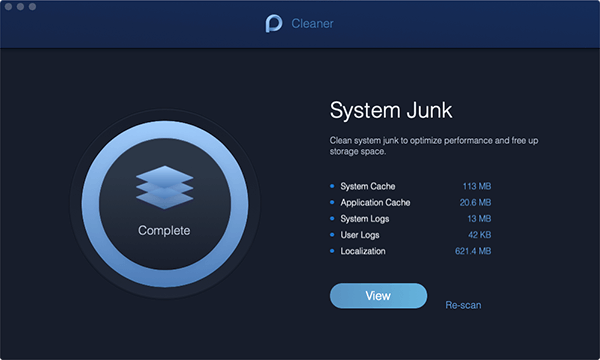 System Junk Scan Done