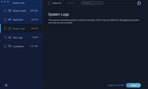 System Junk System Log
