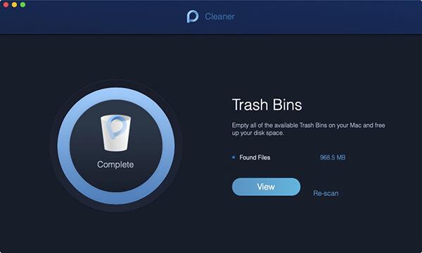 trash bin scan done