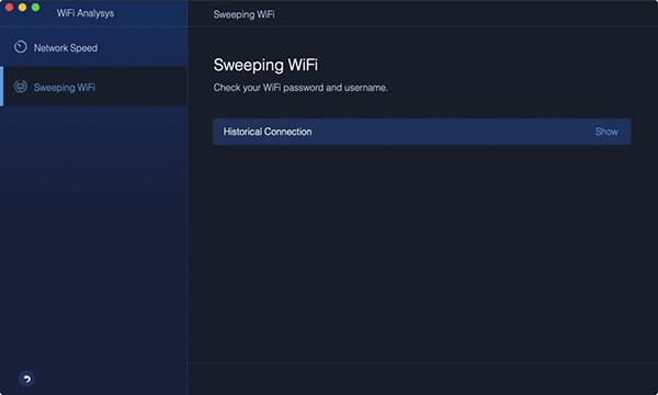 WiFi-Netzwerk-Sweep-Uhr