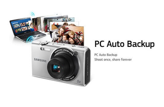 Auto-Backup für Samsung Smart Camera