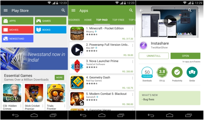 Avoid downloading apps outside of Play Store to Avoid Losing Photos on Android