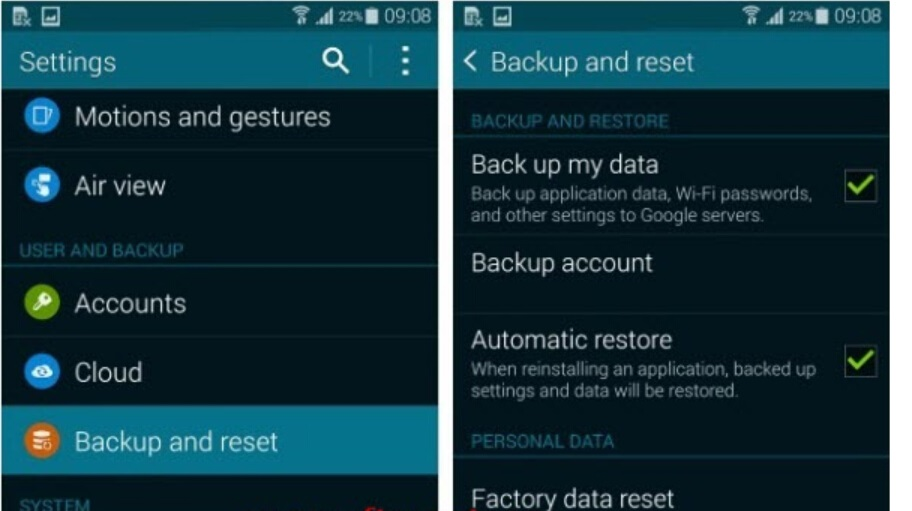 The Best Way to Restore Data after Factory Reset