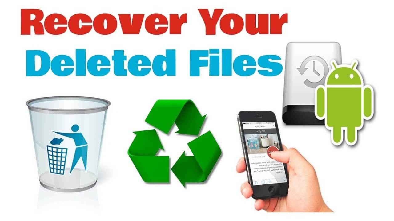 Why Can We Recover Deleted Files from Android