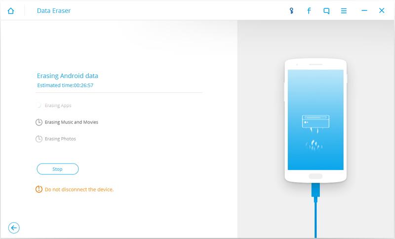 Android Data Erase Effacement des données