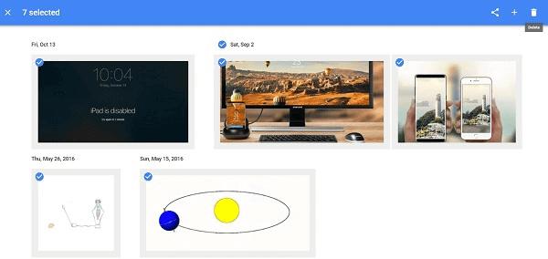 Eliminar todas las fotos de Google Fotos