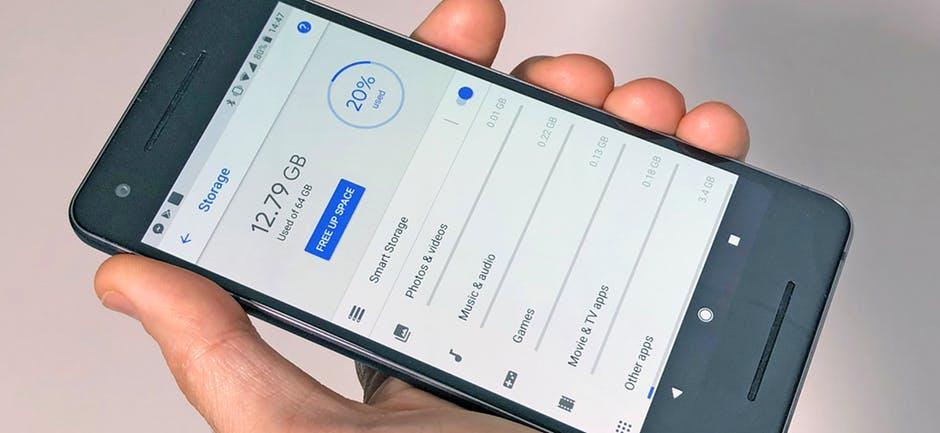 Solucione el código de error 920 Android libere espacio