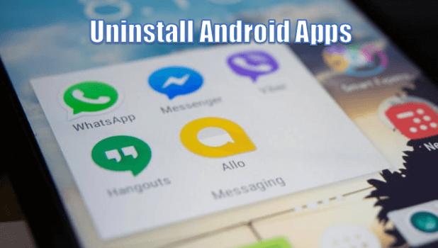 Solucionar error código 920 Android Desinstalar