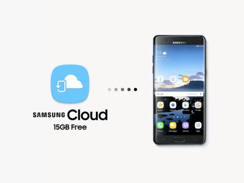Récupération de contacts Samsung à partir de Samsung Cloud