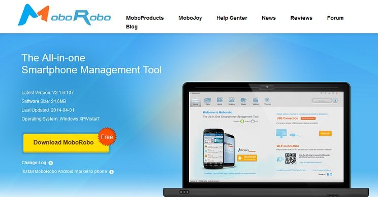 Best Android Backup Software For Pc Moborobo