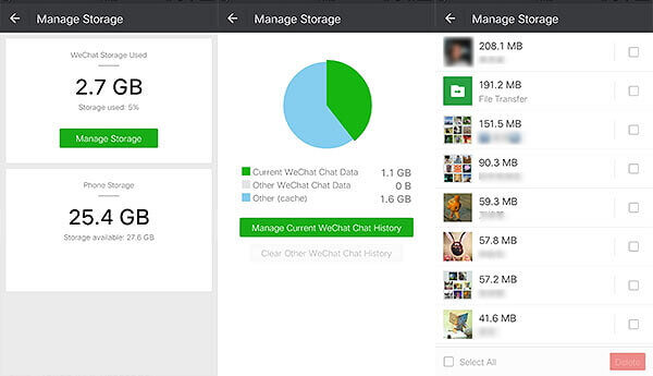 android/manage-wechat-storage