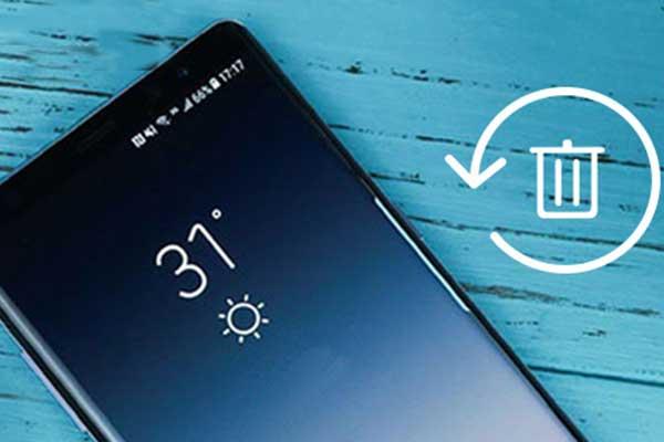 Récupérer le Samsung Galaxy Note9 Recycle supprimé