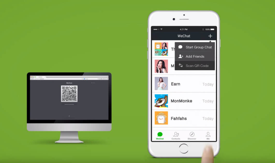 Transfer WeChat Files between PC and Android or iPhone