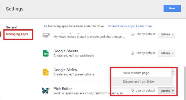 更新Google云端硬盘