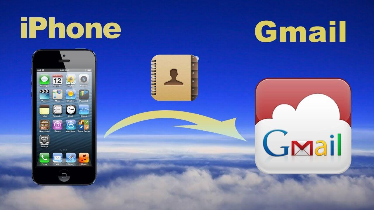 バックアップiPhoneの連絡先Google