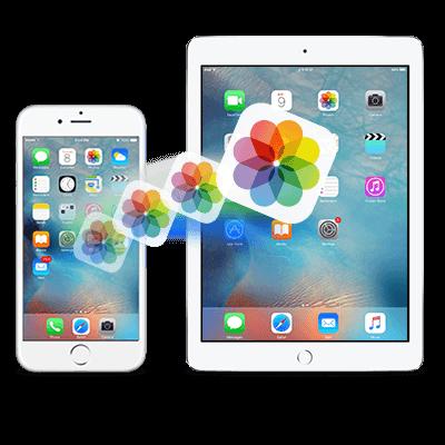 Eliminar fotos del iPhone agregando una nueva cuenta de iCloud