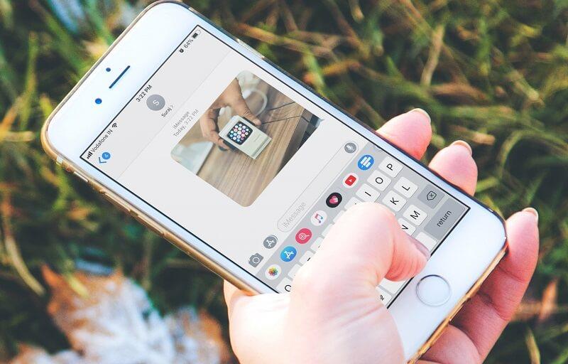 Iphone no envía fotos