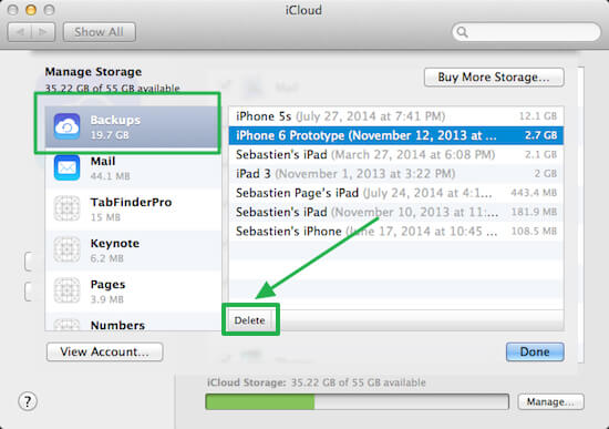 Best 3 ways to teach you how to delete iPhone backup on Mac