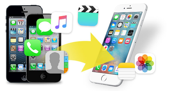 transfer data from iPhone to another