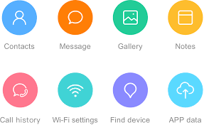 Application Mac de configuration iCloud