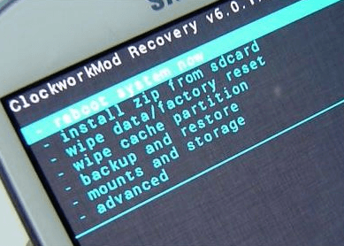 Galaxy S6 Stuck Root Screen Factory Reset
