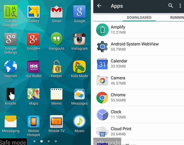 Galaxy S6 Uninstall Malware In Safe Mode