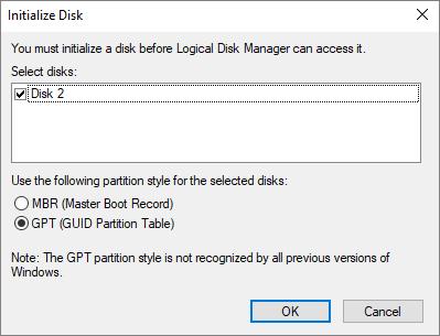 Correction du disque dur Seagate n'apparaissant pas