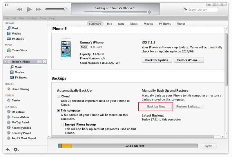 How to Export iPhone Contacts from iTunes