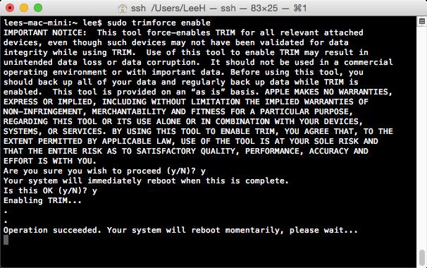 终端(OS X El Capitan)