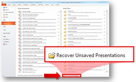 How to Recover Unsaved PowerPoint Mac Files