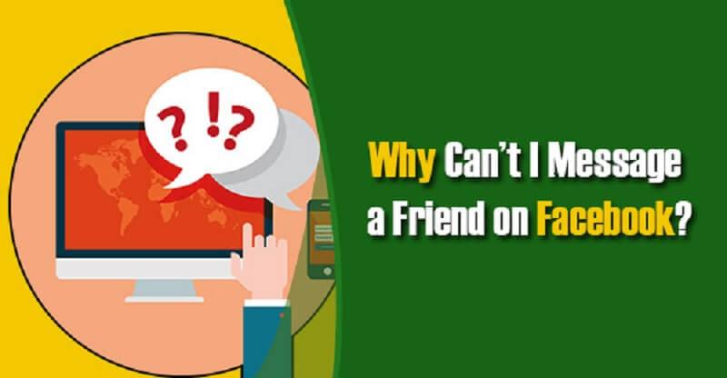 修复无法在Facebook上发送消息