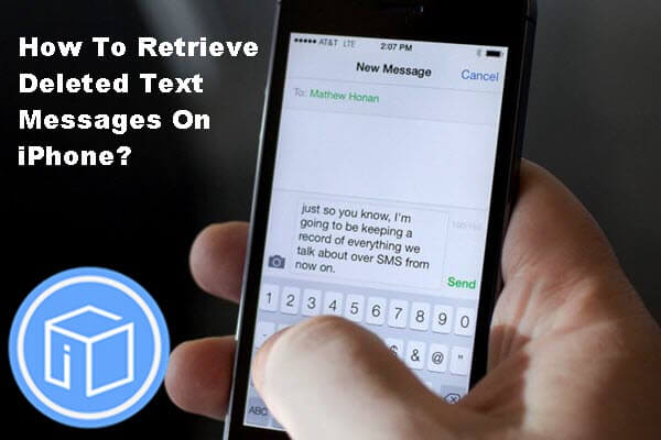 Rretrieve-Deleted-Text-Messages-iPhoneからのメッセージ。