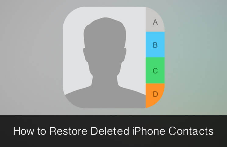 Recover Deleted Contacts From Iphone Directly