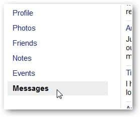 Select Messages Fb