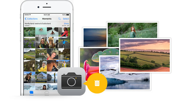 how to quickly delete iphone photos