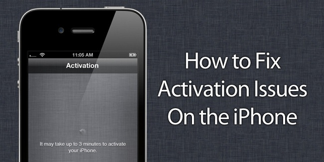 iphone activation server is temporarily unavailable fix