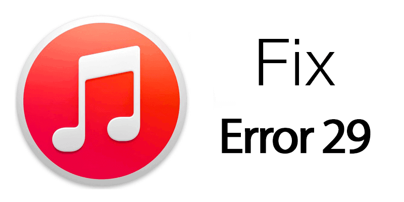 Reparar el error 29