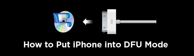 如何將Iphone放入Dfu模式