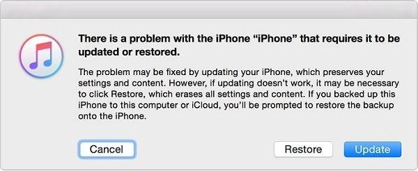 Correction de l'iPhone 8 bloqué sur le logo Apple via iTunes