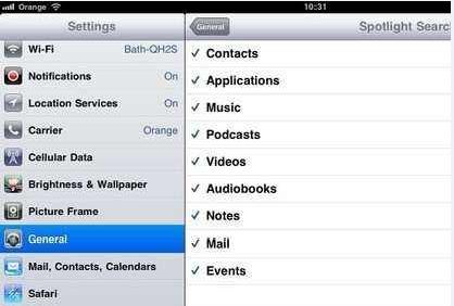 使用Spotlight搜索在iPhone上还原已删除的SMS