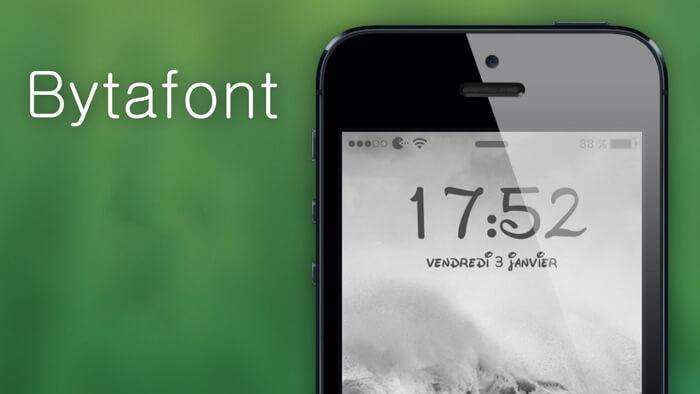 BytaFont改变字体样式