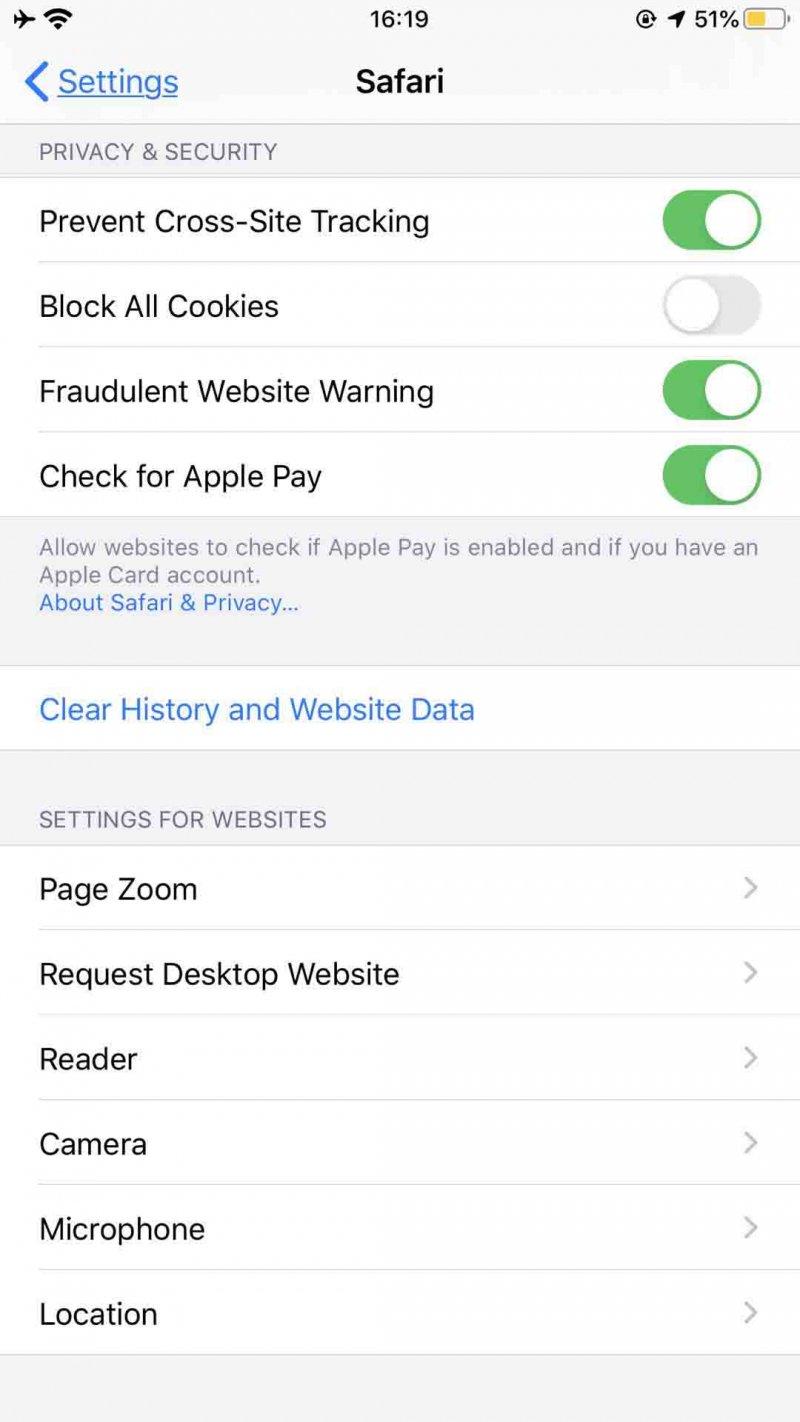 iPhone의 Safari에서 기록을 지우는 방법