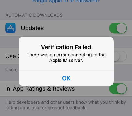 6 Fast Solutions to Fix Apple id Verification Failed [NEW]