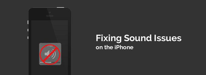 Risolve Nessun problema audio sull'Iphone