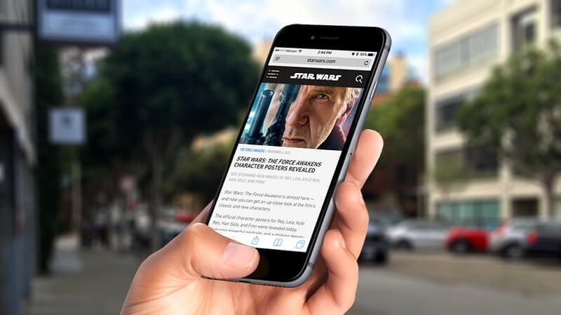 Iphone Safari se estrella